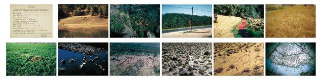 John Baldessari (American, born 1931). 'The California Map Project Part I: California', 1969, exhibition copy 2011