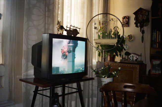 Francesc Torres. '9/11, as seen live on television in Barcelona, Spain' 2009