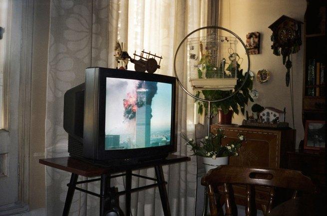 Francesc Torres. '9/11, as seen live on television in Barcelona, Spain' 2009