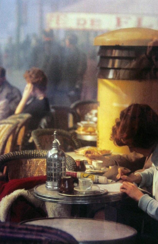 Saul Leiter(American, 1923-2013) 'Paris' 1959