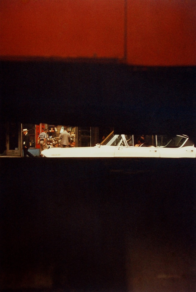 Saul Leiter (American, 1923-2013) 'Through Boards' 1957