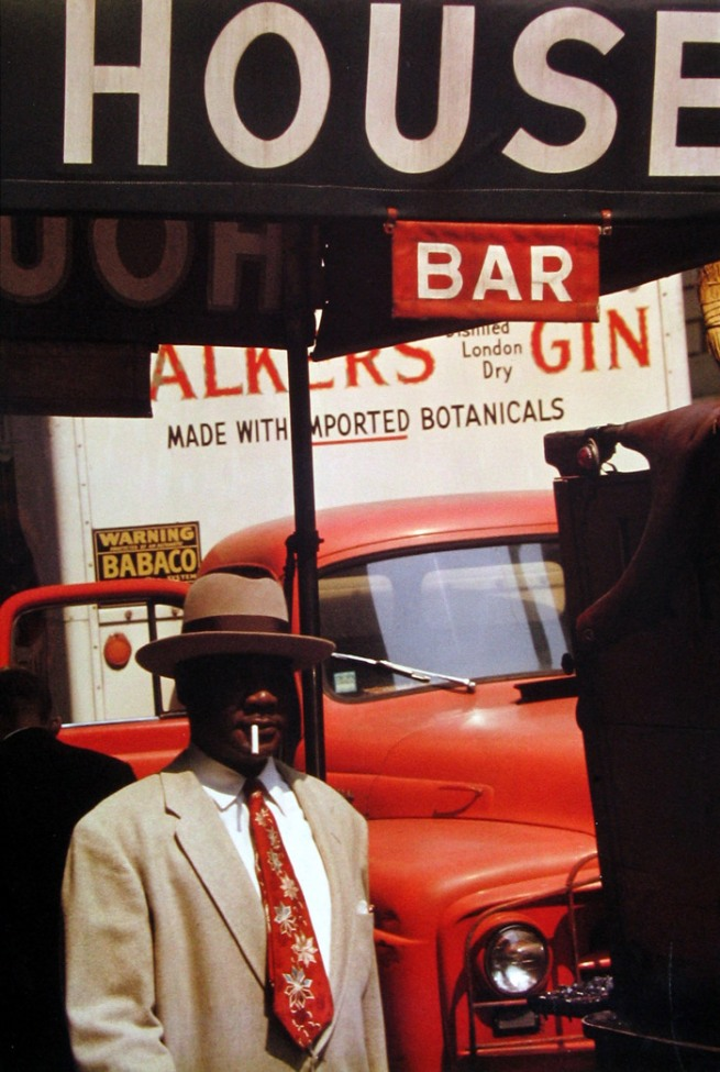 Saul Leiter(American, 1923-2013) 'Harlem' 1960