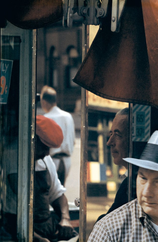 Saul Leiter (American, 1923-2013) 'Reflection' 1958