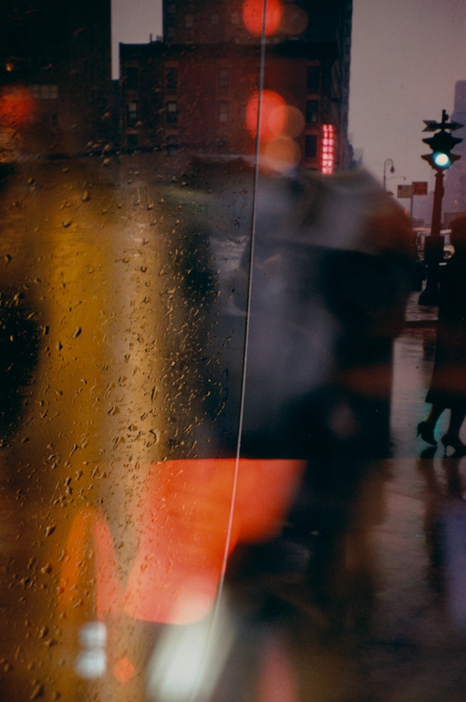 Saul Leiter. 'Walk with Soames' Nd