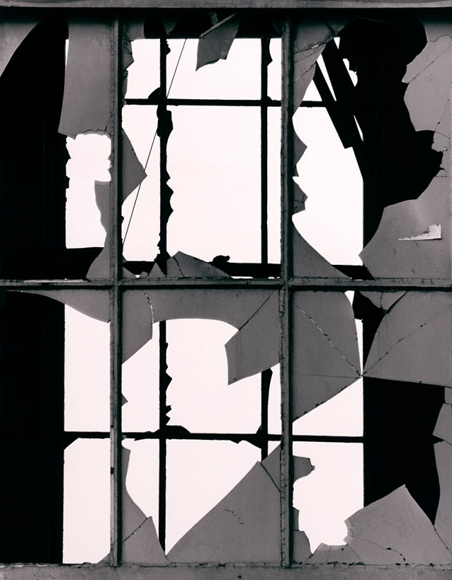 Brett Weston (American, 1911-1993) 'Broken Window' c. 1970