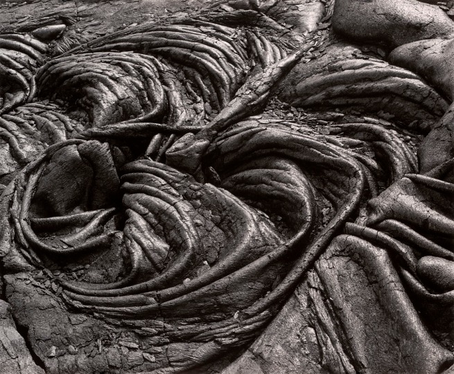 Brett Weston (American, 1911-1993) 'Lava, Hawaii' c. 1985