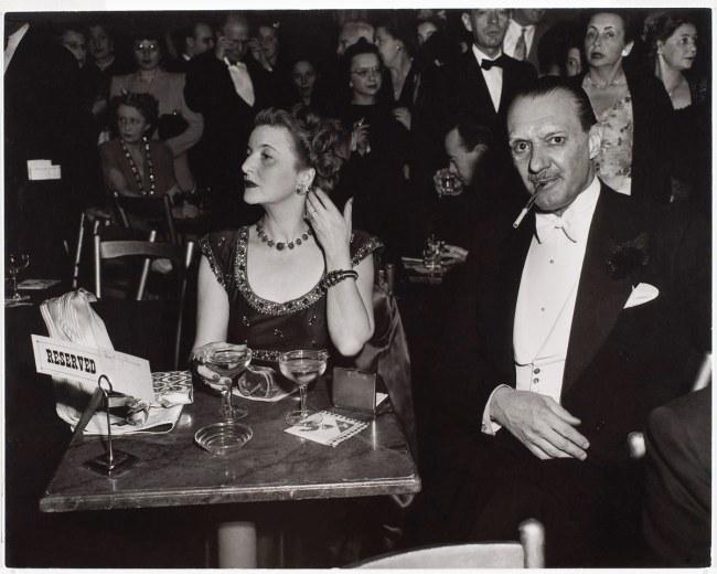 Arthur Leipzig(American, 1918-2014) 'Opening Night at the Opera, New York' 1945