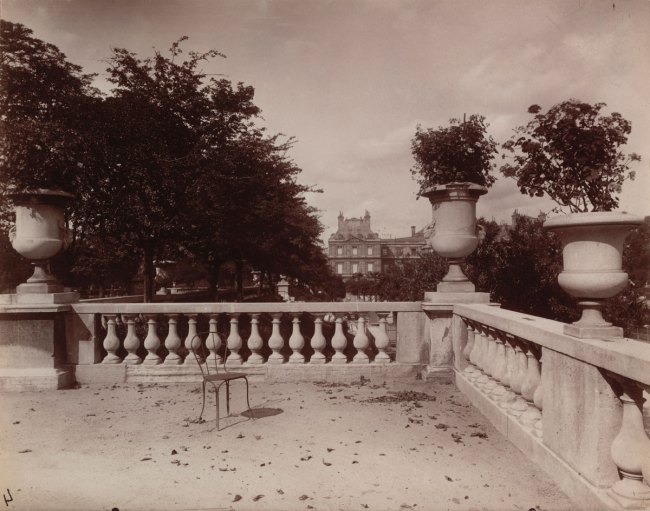 Eugène Atget. 'Luxembourg' 1902-03