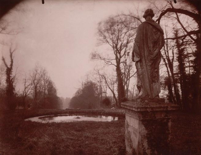 Eugène Atget. 'Parc de Sceaux, mars, 8 h. matin' 1925