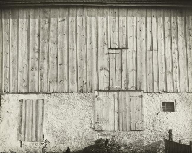 Charles Sheeler (American, 1883-1965) 'Side of a White Barn, Pennsylvania' 1917