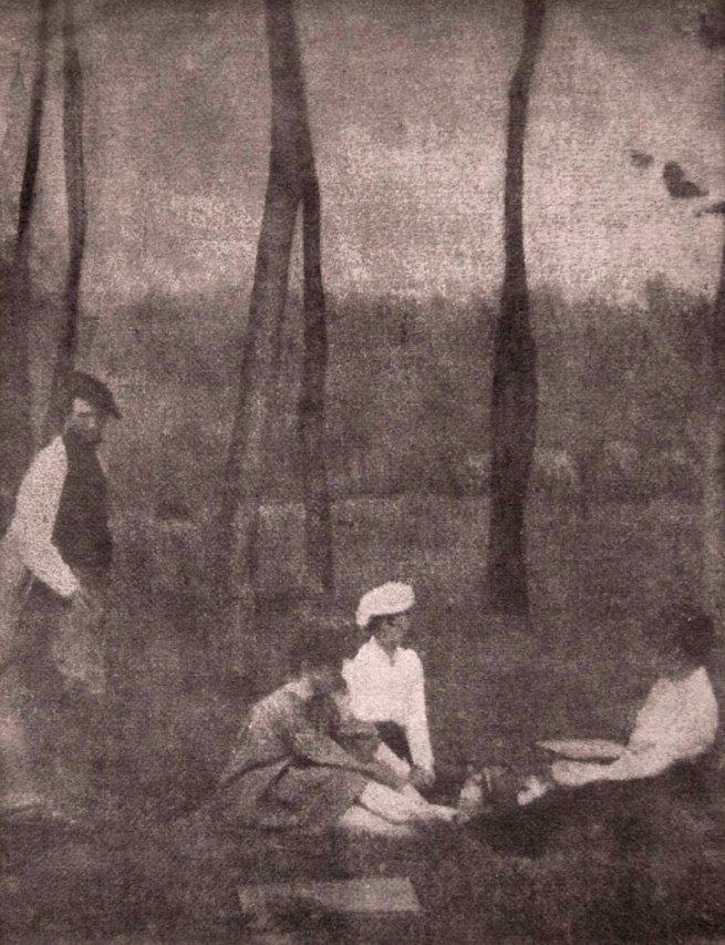 Gertrude Kasebier (American, 1852-1934) 'Serbonne' 1902, printed 1903