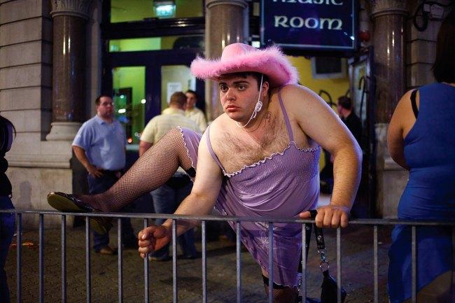 Maciej Dakowicz. 'Pink Hat, 23:42. Cardiff' 2006