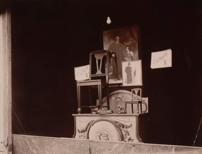 Eugène Atget. 'Fête du Trône' 1925