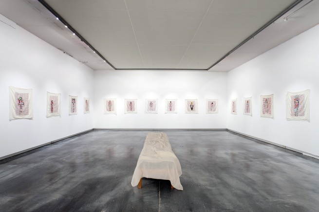 'Tourist #5: Disappearing Project 1 - 41' by Nicola Loder, installation photograph at Helen Gorie Galerie