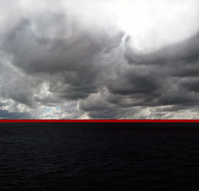 Kim Percy. 'Red Horizon No.1' 2012