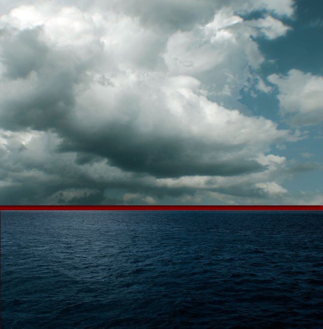 Kim Percy. 'Red Horizon No.2' 2012