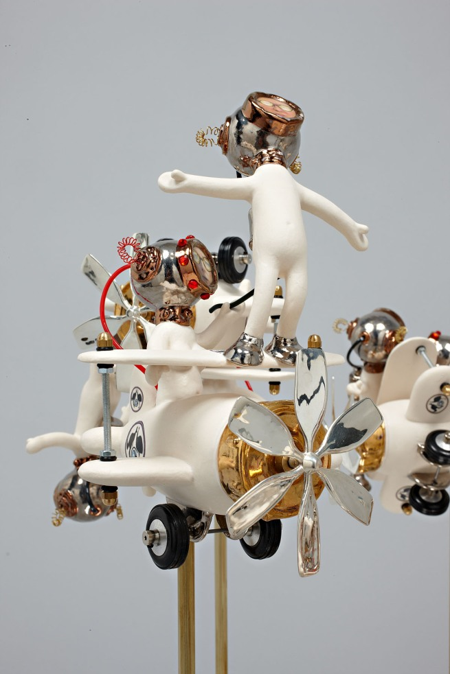 Robyn Hosking. 'The Wing Walker' 2011 (detail)
