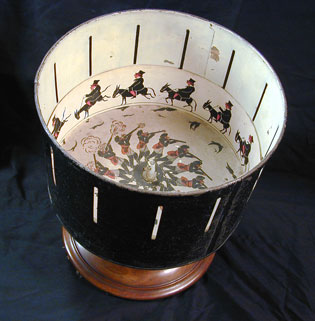 Zoetrope by William George Horner, 1834