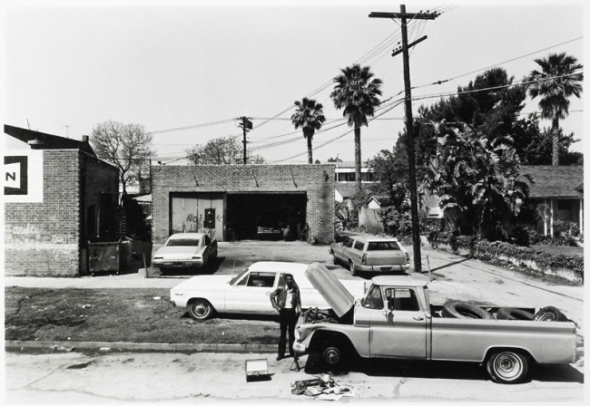 Anthony Hernandez. 'Automotive Landscapes #5, Los Angeles' 1978