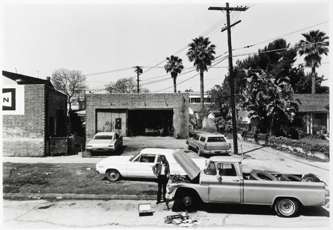 Anthony Hernandez. 'Automotive Landscapes #5, Los Angeles' 1978