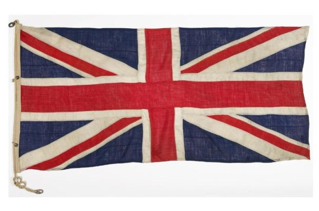 Union Jack taken by Scott to the South Pole 1911-12