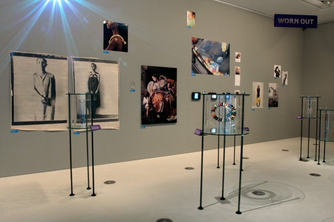 Installation photograph of the exhibition 'Unexpected Pleasures' at the National Gallery of Victoria