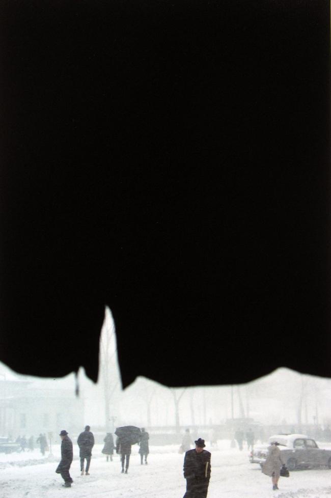 Saul Leiter. 'Canopy' c. 1957