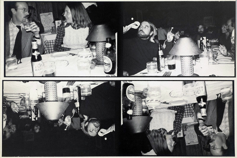 Darryl J. Curran. 'Cocktails with Heinecken' about 1974