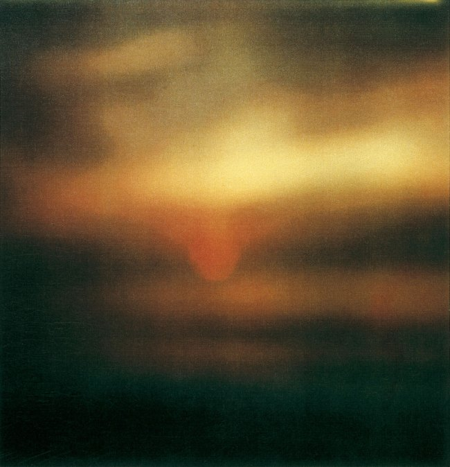 Cy Twombly. 'Sunset, Gaeta' 2009