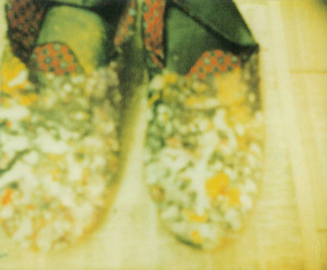 Cy Twombly. 'The Artist's Shoes, Lexington' 2005