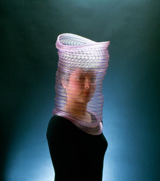 Caroline Broadhead(British, b. 1950) 'Veil, necklace' 1983