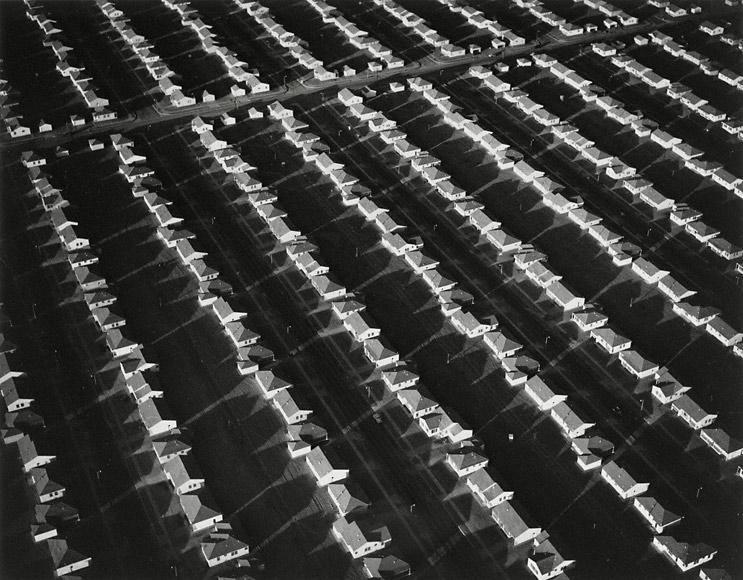 Finished Housing, Lakewood, California, 1950, William A. Garnett
