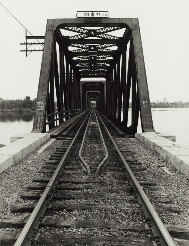 Ralph Greenhill. 'Prince of Wales Bridge, Ottawa, Ontario' 1977