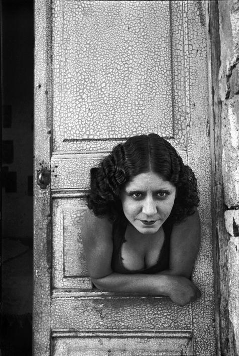 Henri Cartier-Bresson. 'Prostitute, Calle Cuauhtemoctzin, Mexico' 1934