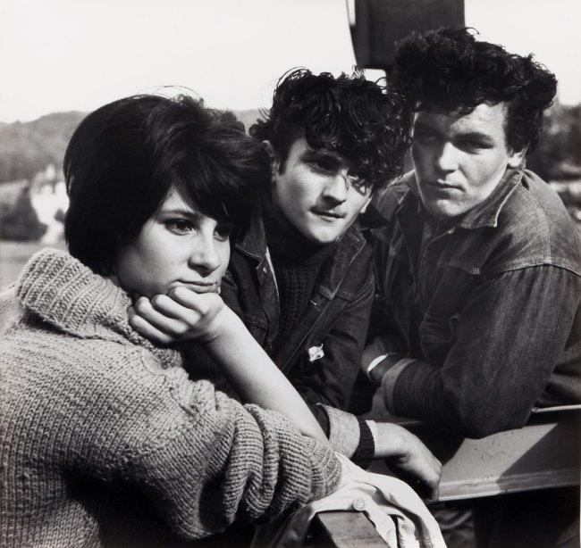 Karlheinz Weinberger. 'Drei zusammen (three together)' c. 1965