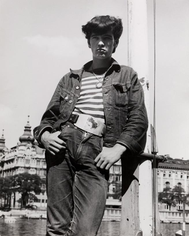 Karlheinz Weinberger. 'Zürich am Limmatquai' 1962