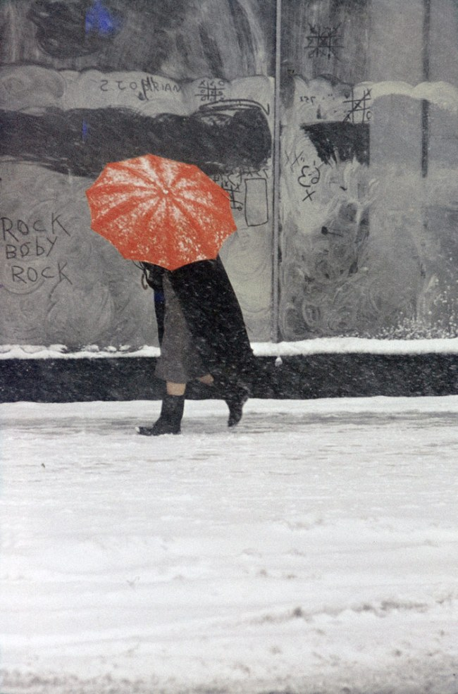 Saul Leiter. 'Red Umbrella' c. 1958