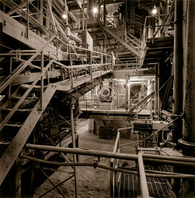 Peter MacCallum. 'Finishing Mill Department, St. Marys Cement, Bowmanville, Ontario' 1999