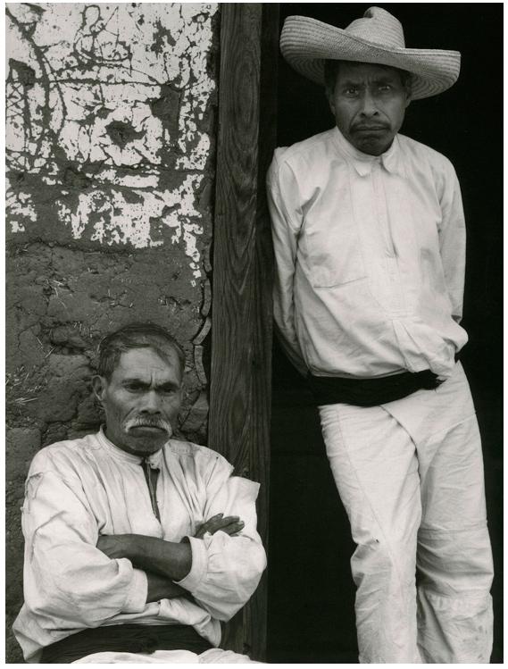 Paul Strand. 'Men of Santa Ana, Lake Patzcuaro Michoacan' 1933
