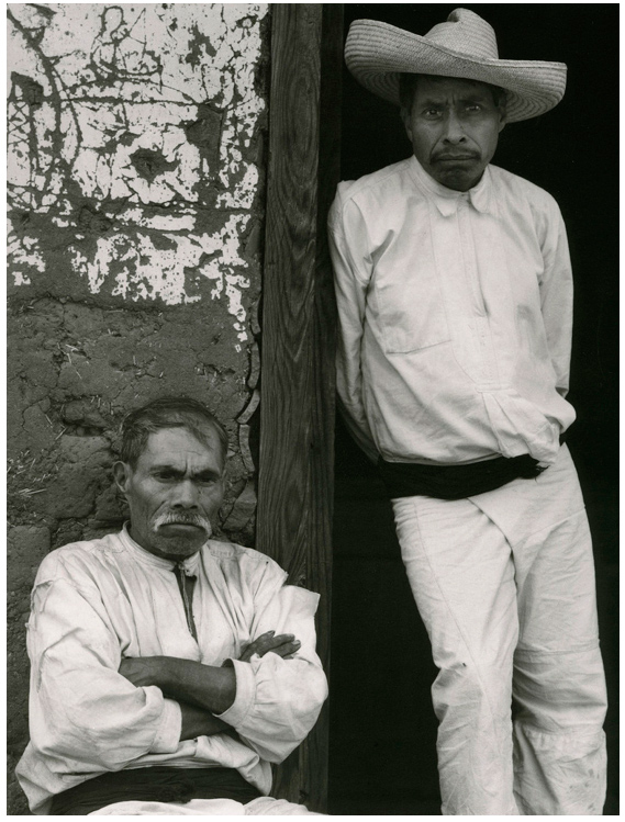Paul Strand. 'Men of Santa Ana, Lake Patzcuaro Michoacan' 1933