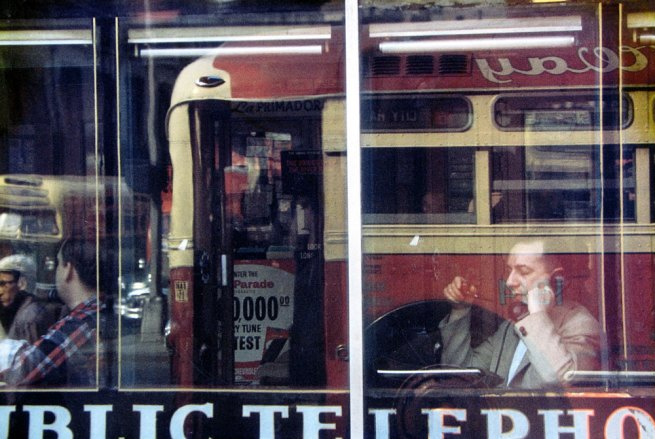 Saul Leiter. 'Phone Call' c. 1957