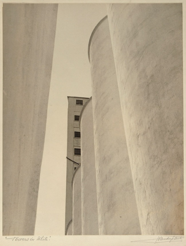John Vanderpant. 'No.2, Towers in White', around 1934