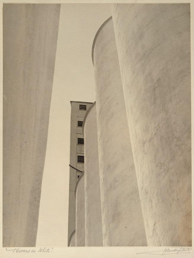 John Vanderpant. 'No.2, Towers in White', around 1934