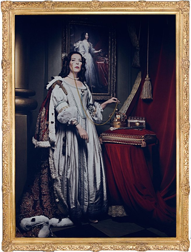 Francesco Vezzoli. 'Portrait of H.R.H The Princess of Hanover (Before & After Salvador Dalí)' 2009