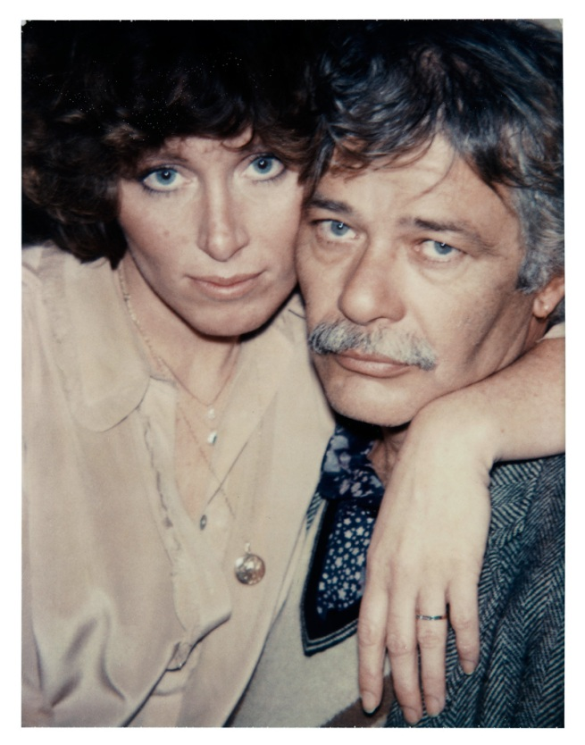 Andy Warhol. 'John Chamberlain and Lorraine' 1978
