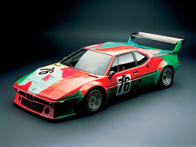 Andy Warhol. 'BMW M1 Art Race Car' 1979