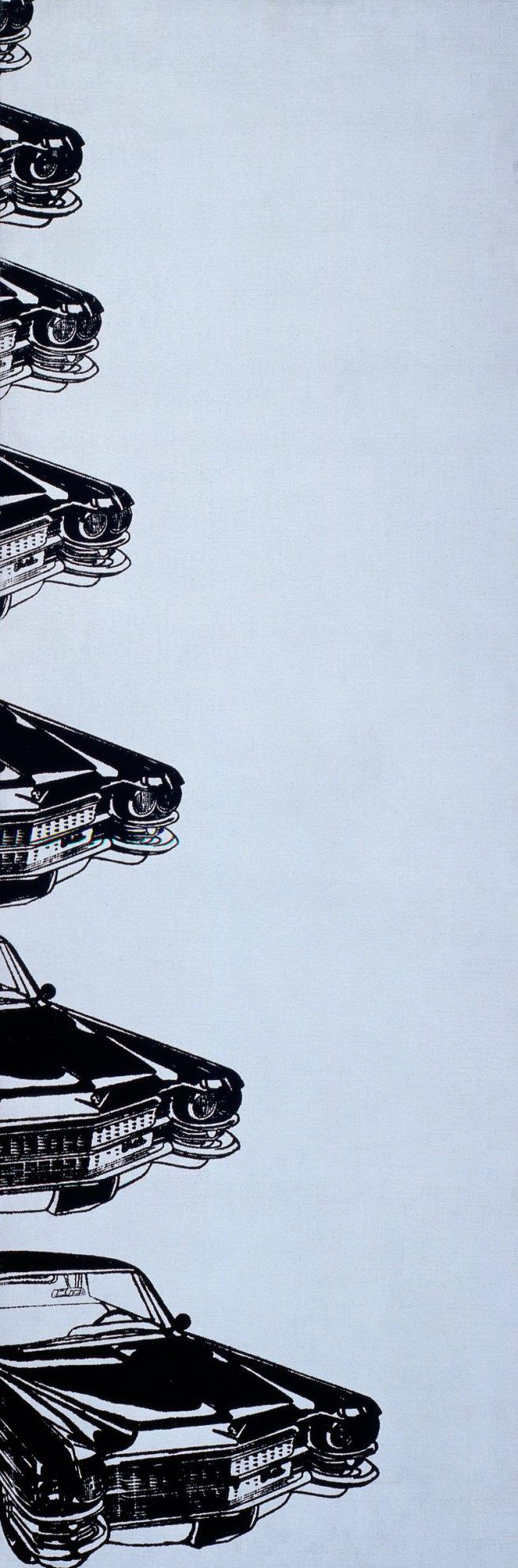 Andy Warhol (1928-87) 'Seven Cadillacs' 1962