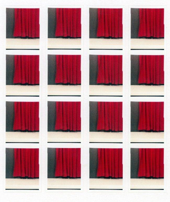 Jan Wenzel. 'Vohang (Curtain)' 2009