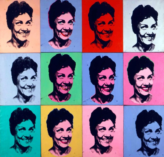 Andy Warhol. 'Frances Lewis' 1966