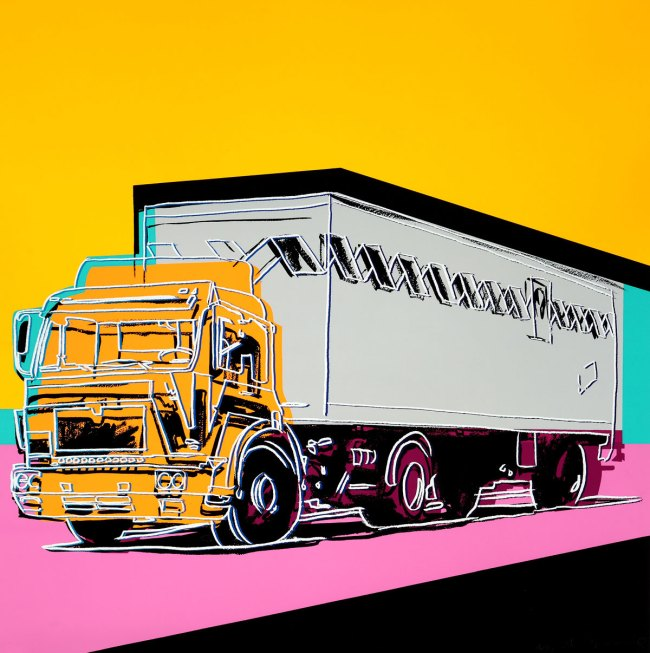 Andy Warhol. 'Truck' 1985